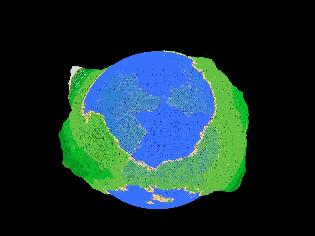 Mark Scheurwater - Planet fractal